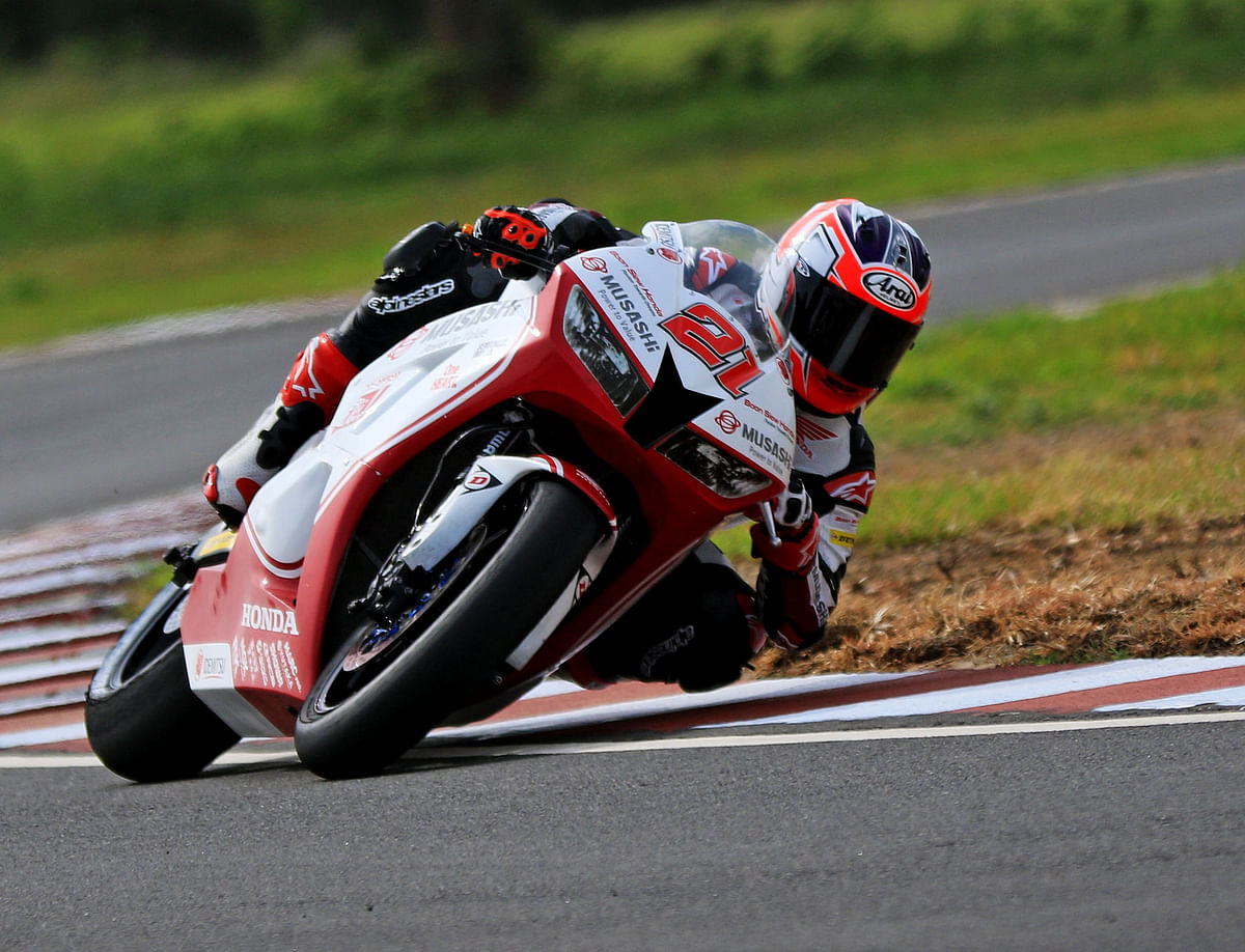 ARRC round 4: Zaqhwan Zaidi posts fastest time in practice session in the Supersport 600cc class