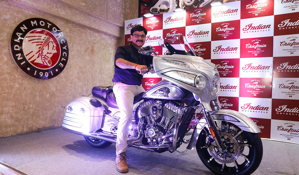 Indian Motorcycle Chieftain Elite launched at Rs 38 lakh