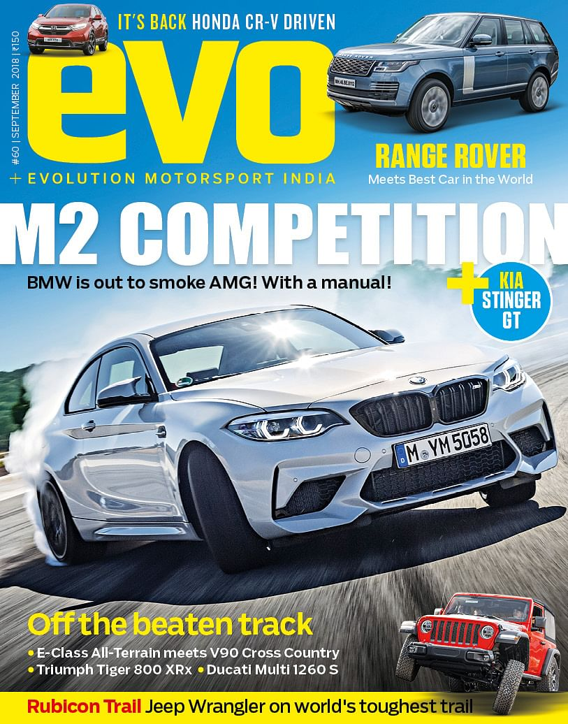 We muscle our way around in the September 2018 issue of evo India – On stands now!