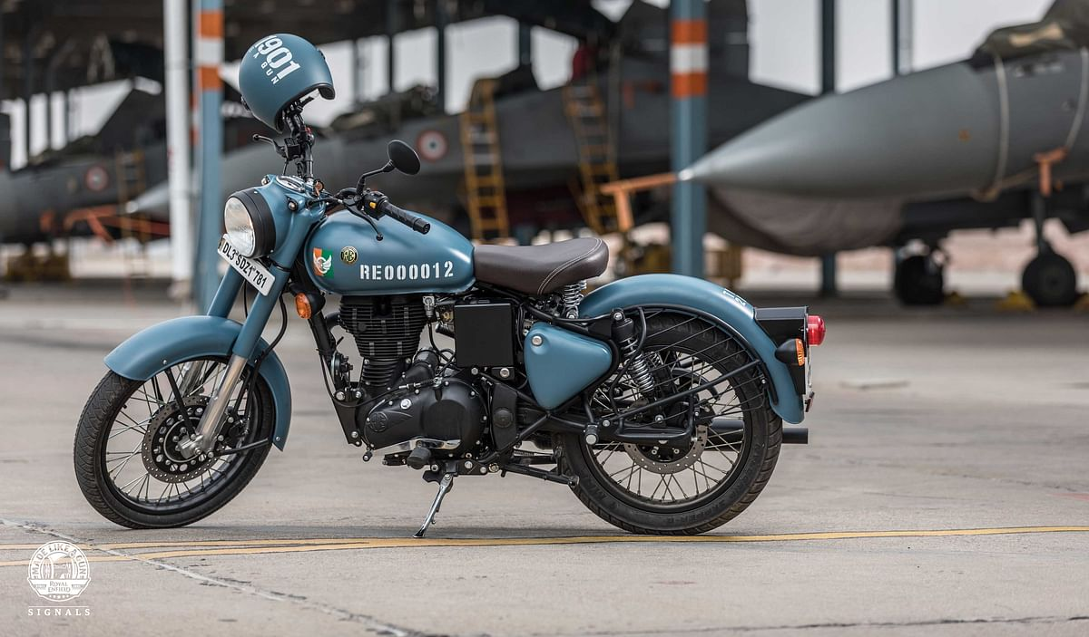 Royal Enfield launches Classic Signal 350 series at Rs 1.61 lakh