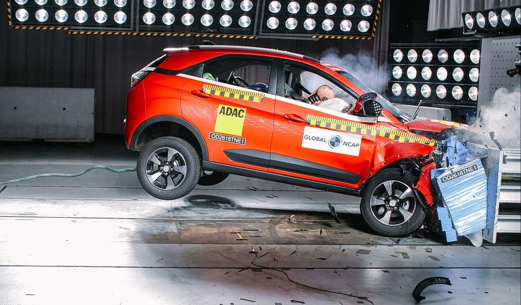 Tata Nexon achieves 4-stars in Global NCAP ratings