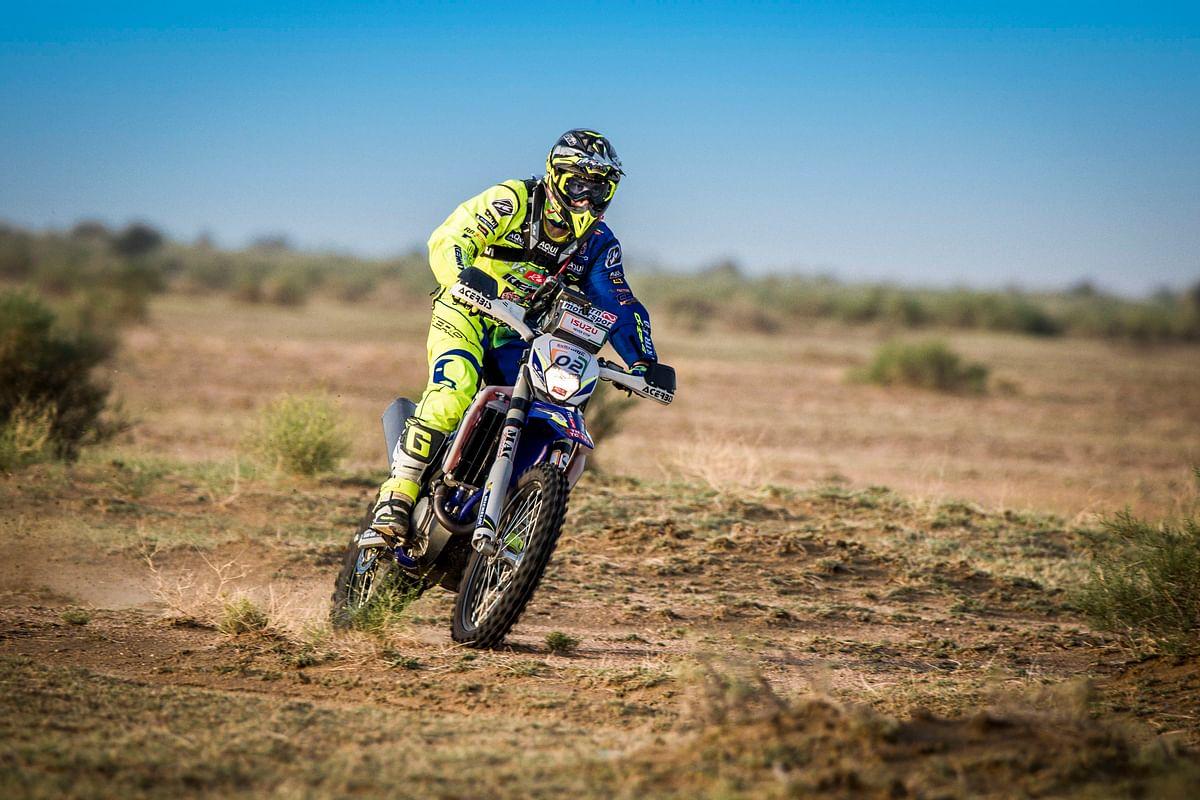 Lorenzo Santolino from Sherco TVS wins the India Baja 2018