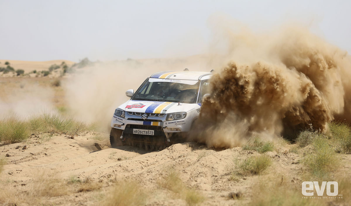 Dakshin Dare -Team Maruti Suzuki's AWD Vitara Brezza