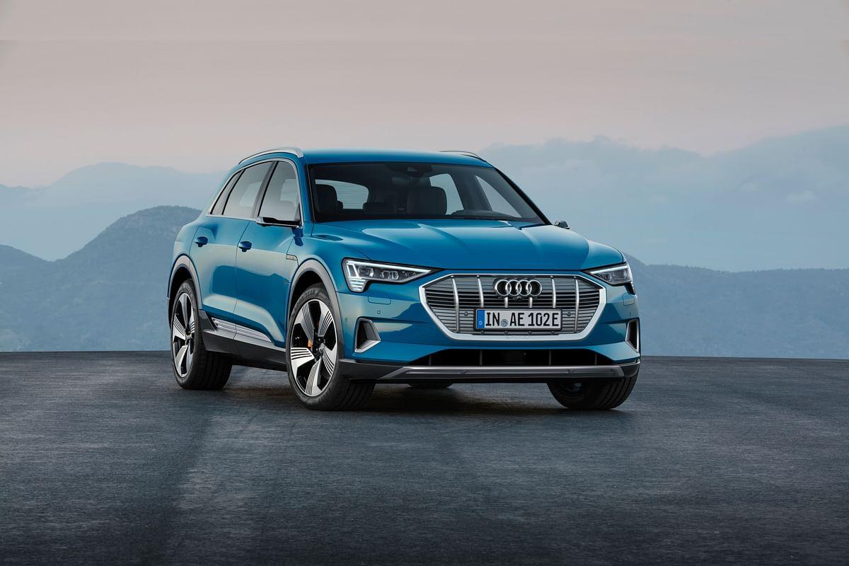 Audi pulls the wraps off the e-tron