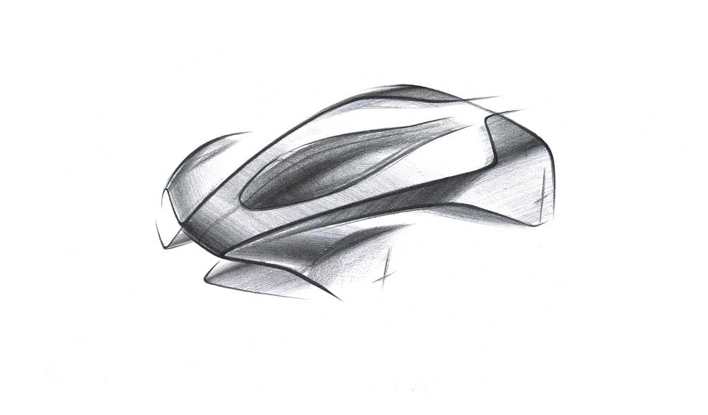 First sketch of Aston Martin's newest hypercar 'Project 003' released