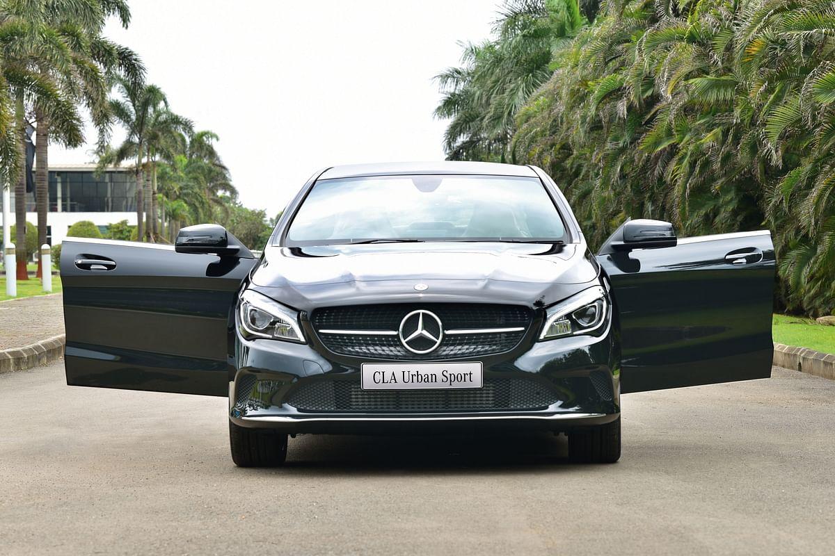 Mercedes-Benz CLA Urban Sport launched