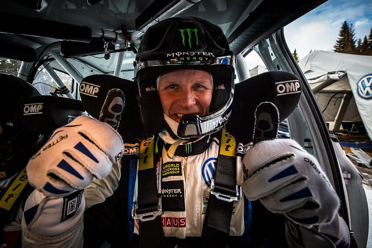 Petter Solberg makes a comeback to WRC with Volkswagen