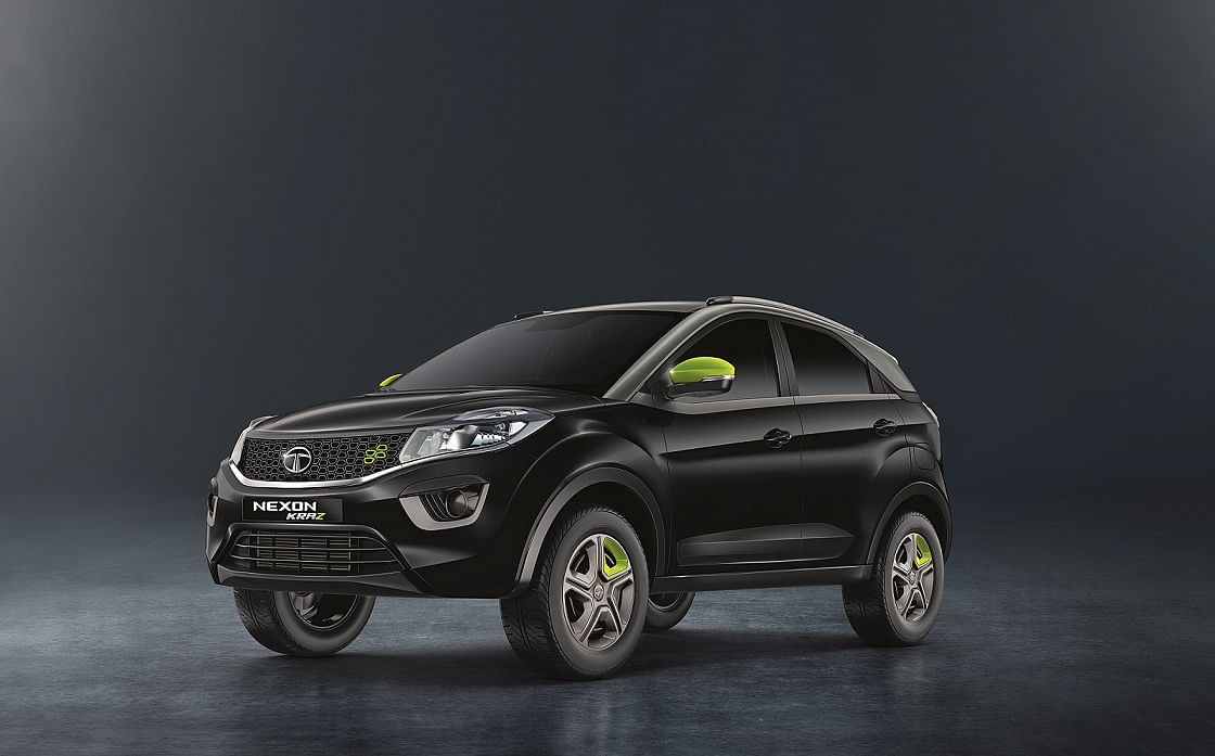 Tata Motors has launched the limited edition Nexon KRAZ starting at Rs 7.14 lakh
