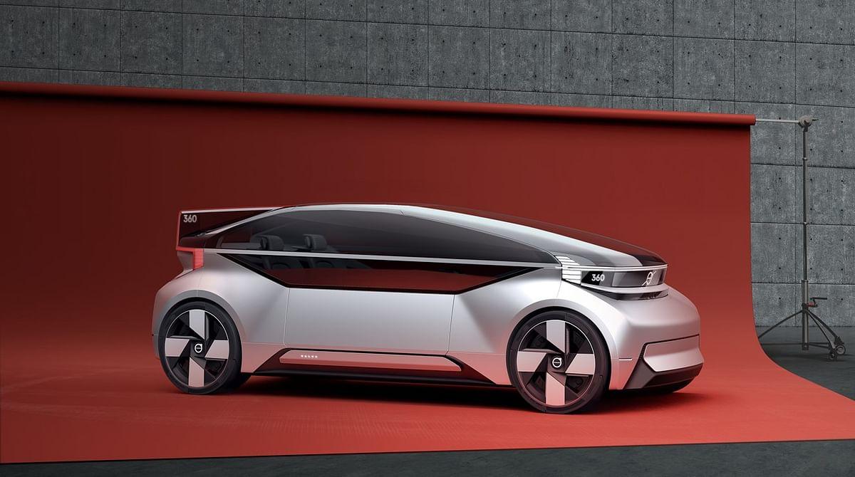 Volvo presents new 360c autonomous concept car