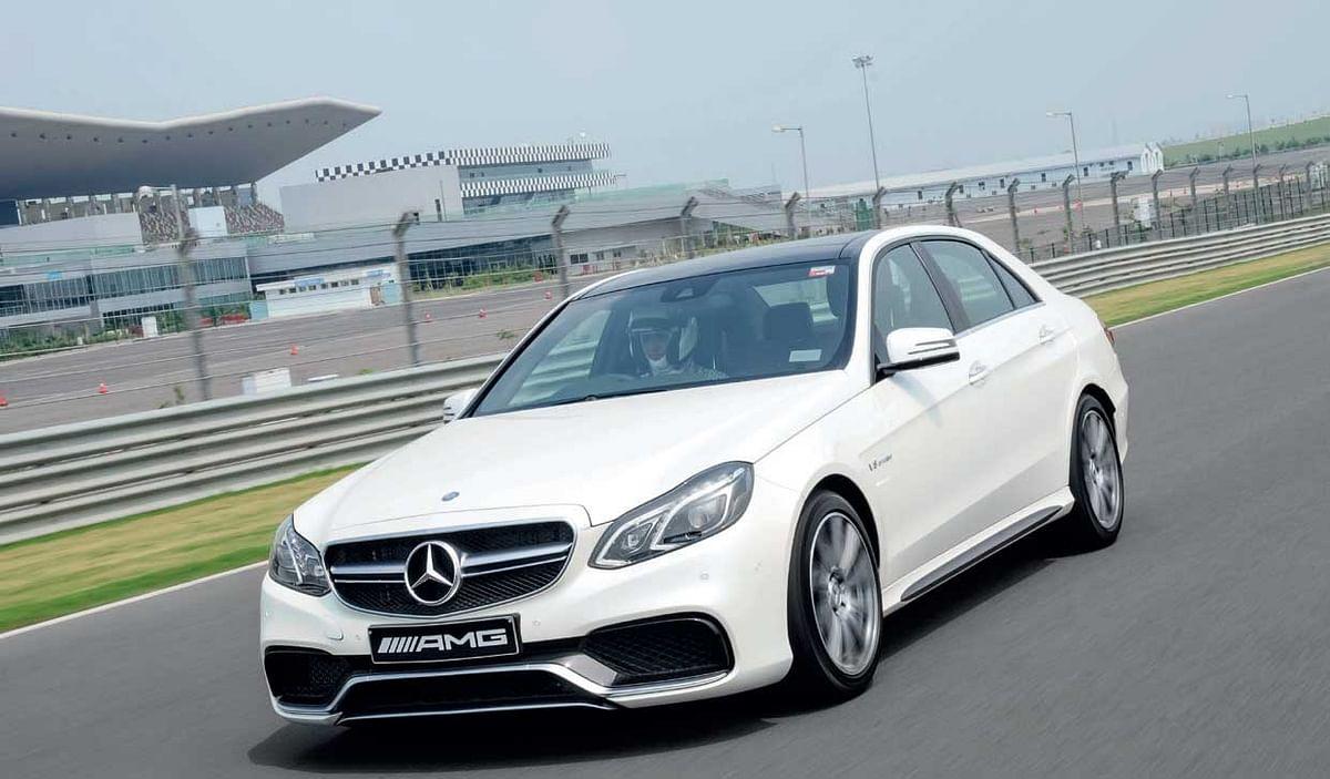 Mercedes-Benz E63 AMG Driven