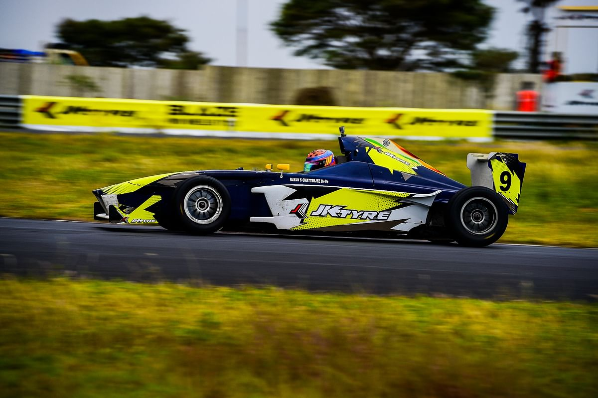 JKNRC 2018 Round 2: Double win for Nayan Chatterjee in Euro JK 18 on day 1
