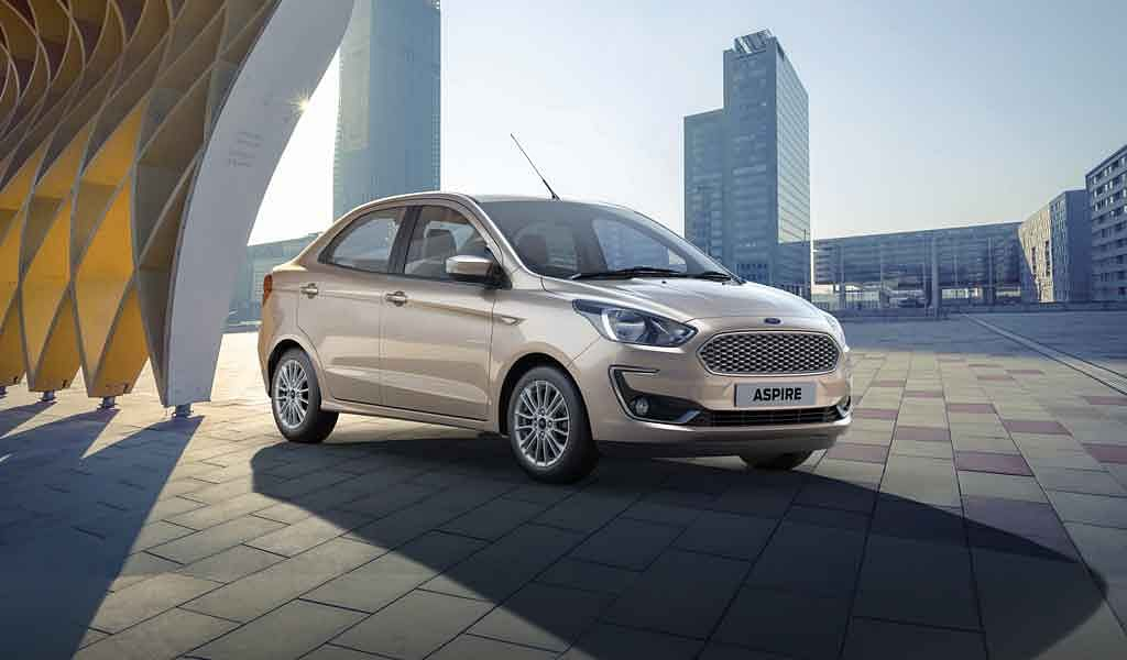Ford Aspire facelift bookings open, to launch on October 4