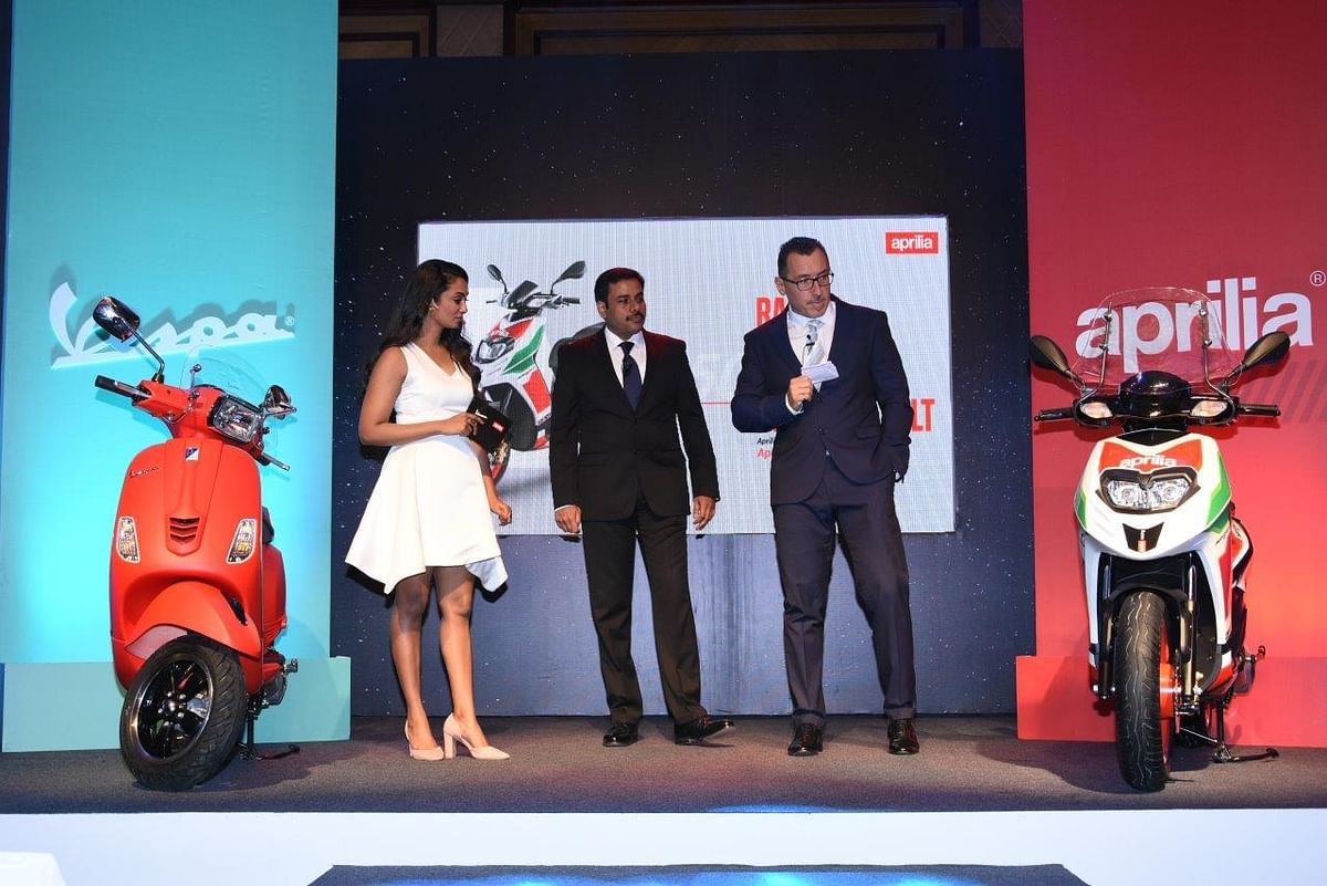 Aprilia and Vespa refresh their scooter line-up for India