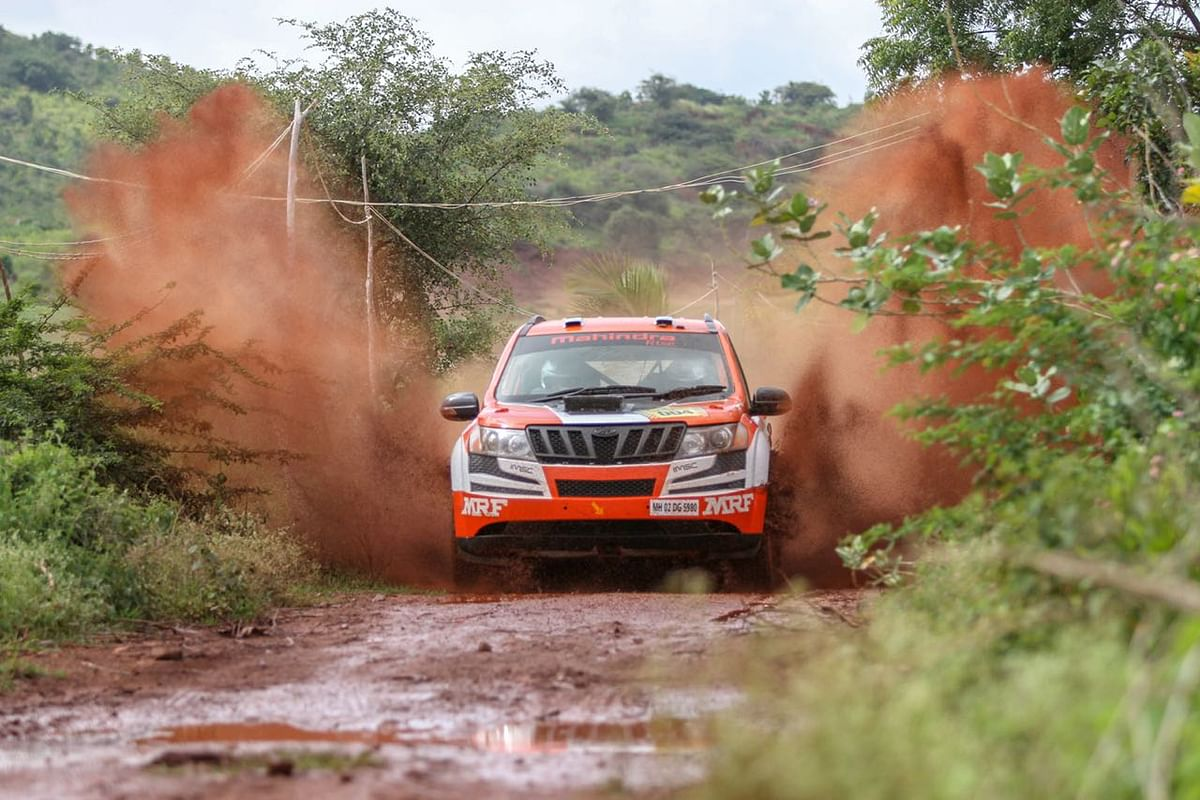 Team Mahindra stays in the lead on day two of the Dakshin Dare 2018