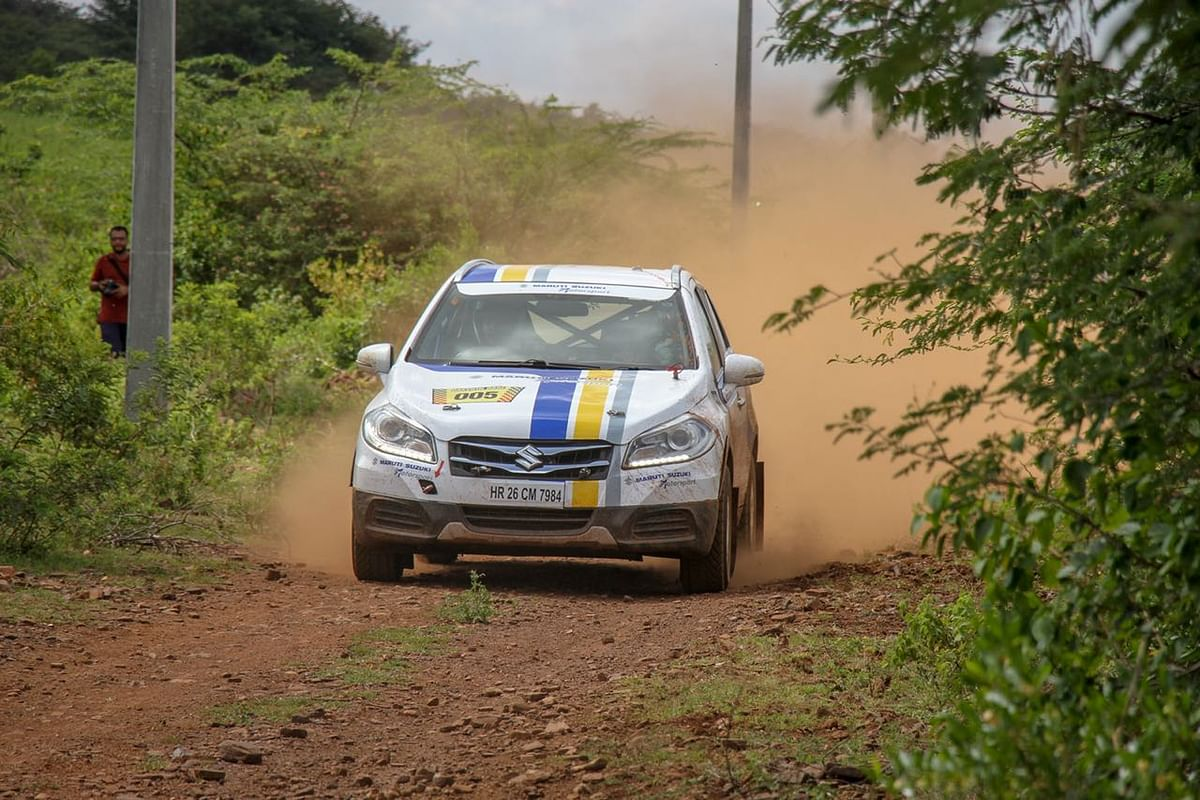 Dakshin Dare 2018 : Team Maruti Suzuki showed great spirit on the opening day