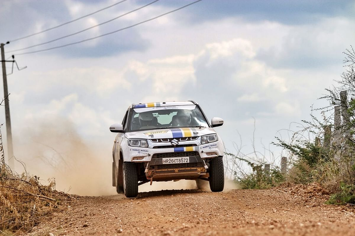 Dakshin Dare 2018: Sandeep Sharma climbs up to top three on day 3