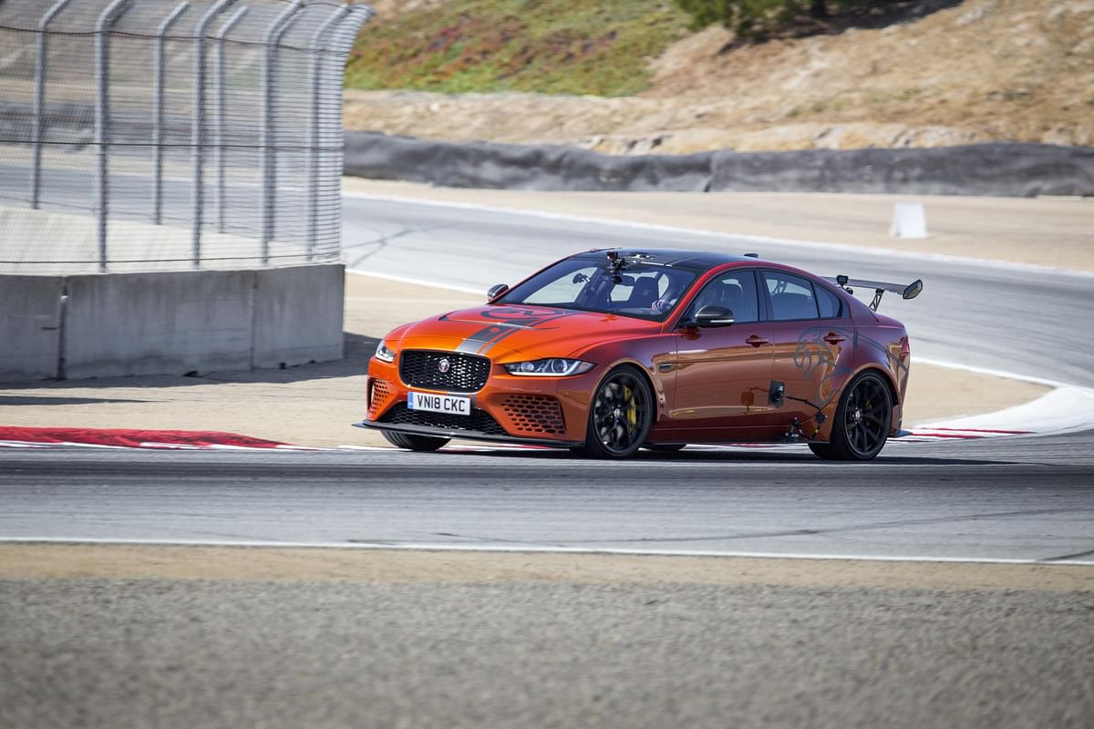 Jaguar XE SV Project 8 sets another record