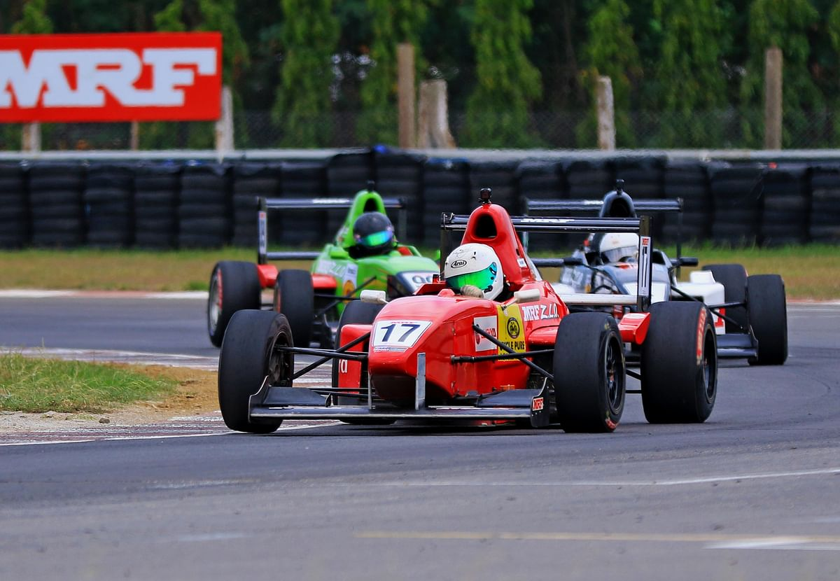 INRC Round five: Raghul Rangasamy wins in the MRF Formula 1600 category