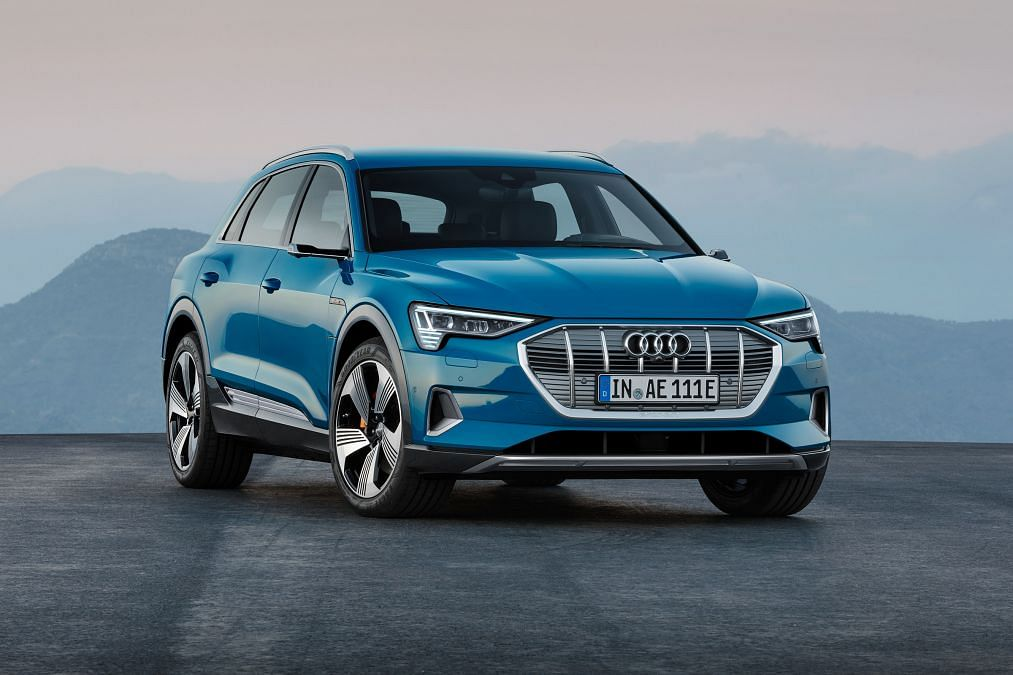 Audi pulls the wraps off the e-tron