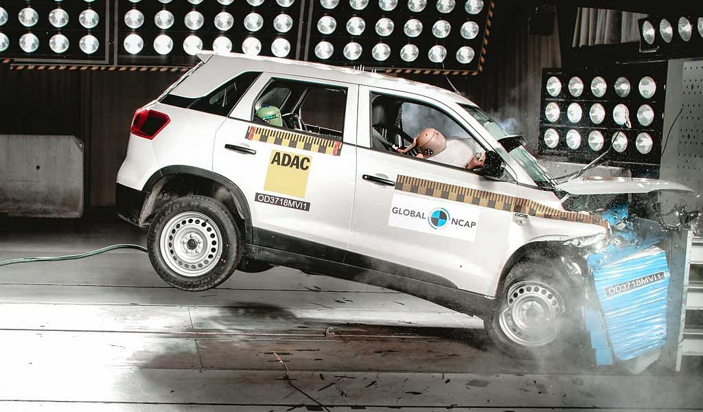 Global NCAP crash tests: Maruti Suzuki Vitara Brezza scores four stars