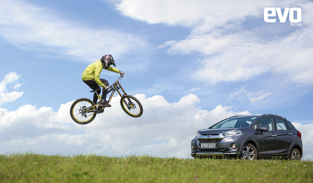 Live the Adventure with Honda WR-V, part 1: Downhill cycling and treading off beat trails