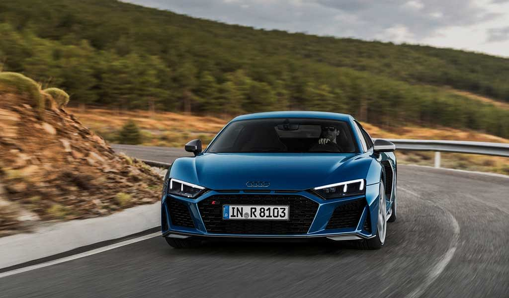 Audi R8 facelift revealed