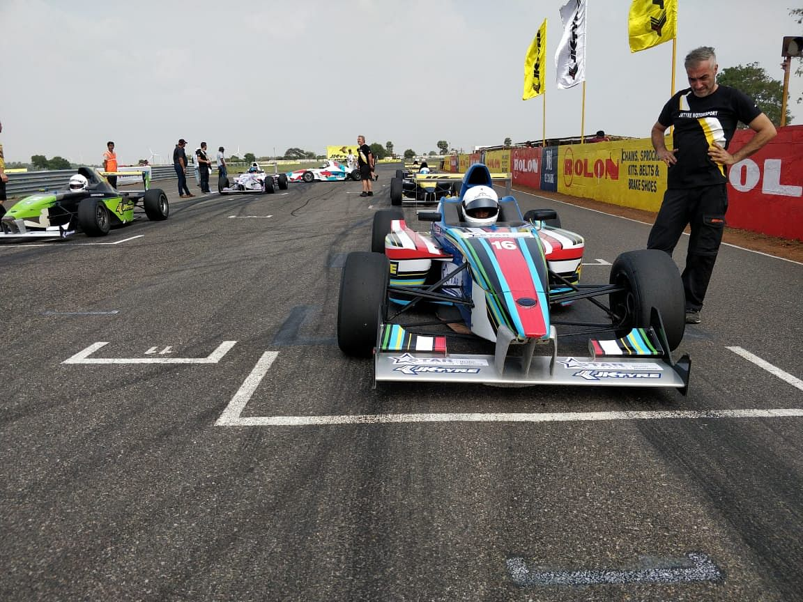 JKNRC 2018: Karthik and Nirmal win a race each in Euro JK 18 category