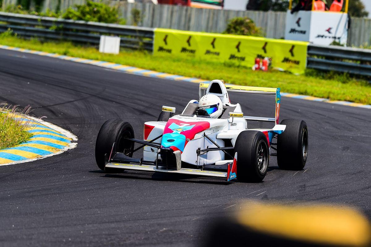 JKNRC 2018 Round 3: Karthik Tharani on podium in both races of Euro JK 18 class