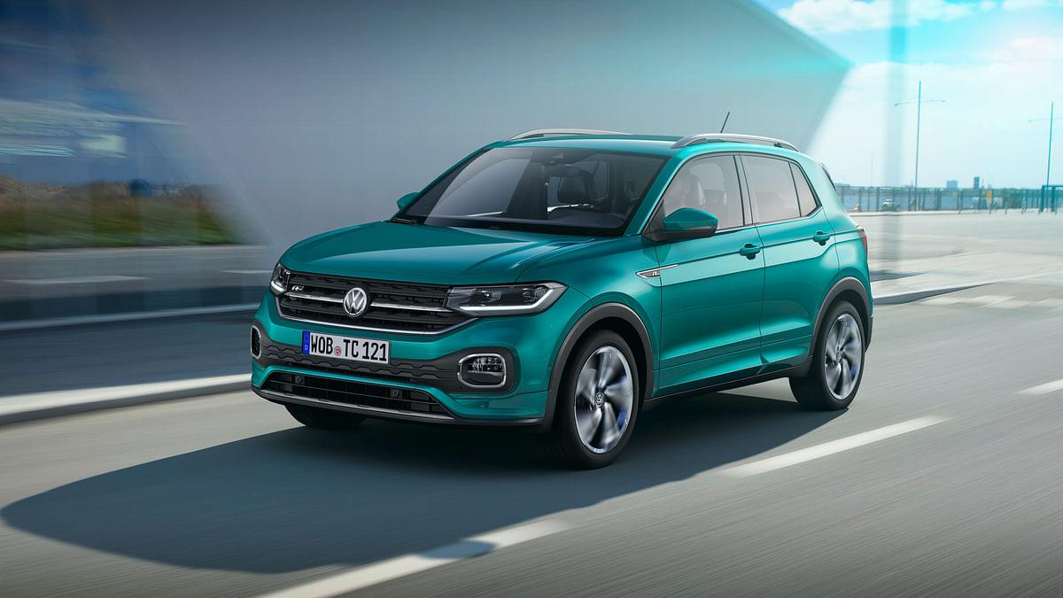 Volkswagen T-Cross makes its world debut