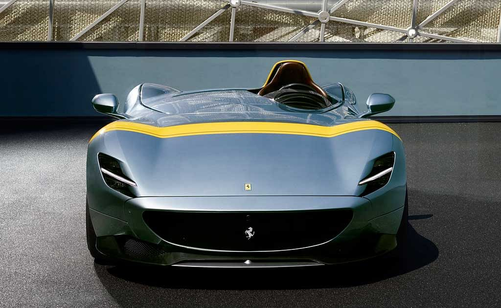 Paris Motor Show 2018: Ferrari showcases the Monza SP1 and SP2