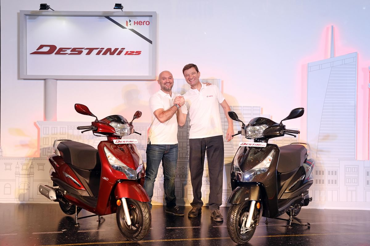 Hero MotoCorp launches Destini 125 scooter at Rs 54,650