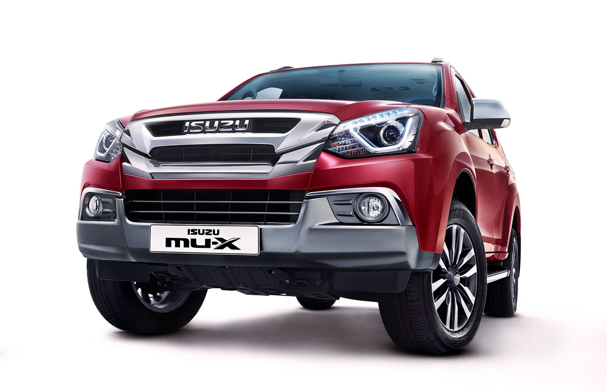 Isuzu has launched the refreshed MU-X priced at Rs 26.26 lakh