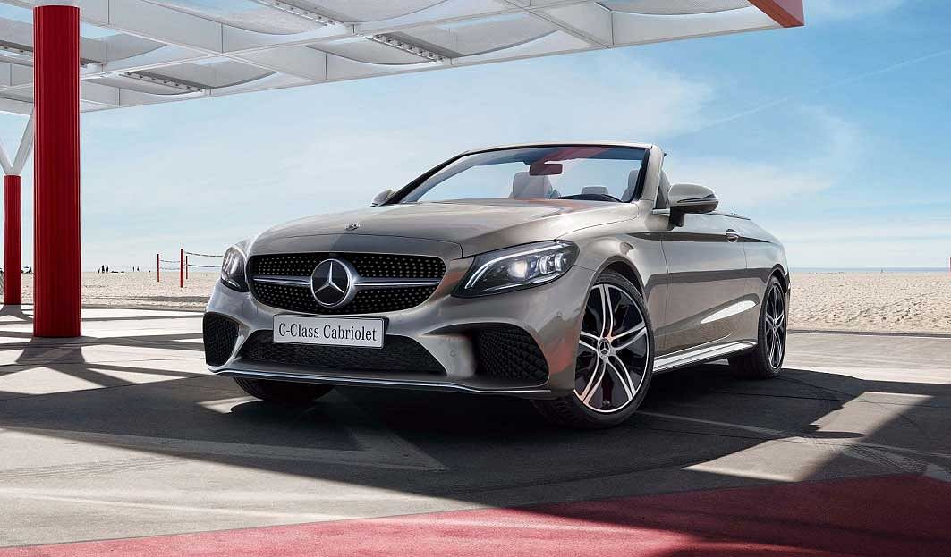 Mercedes-Benz launches updated C-Class Cabriolet