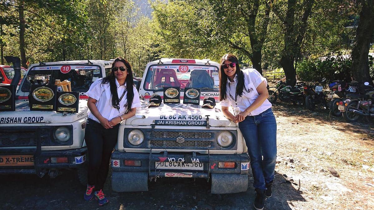 Raid de Himalaya 2018 – The lady rally drivers