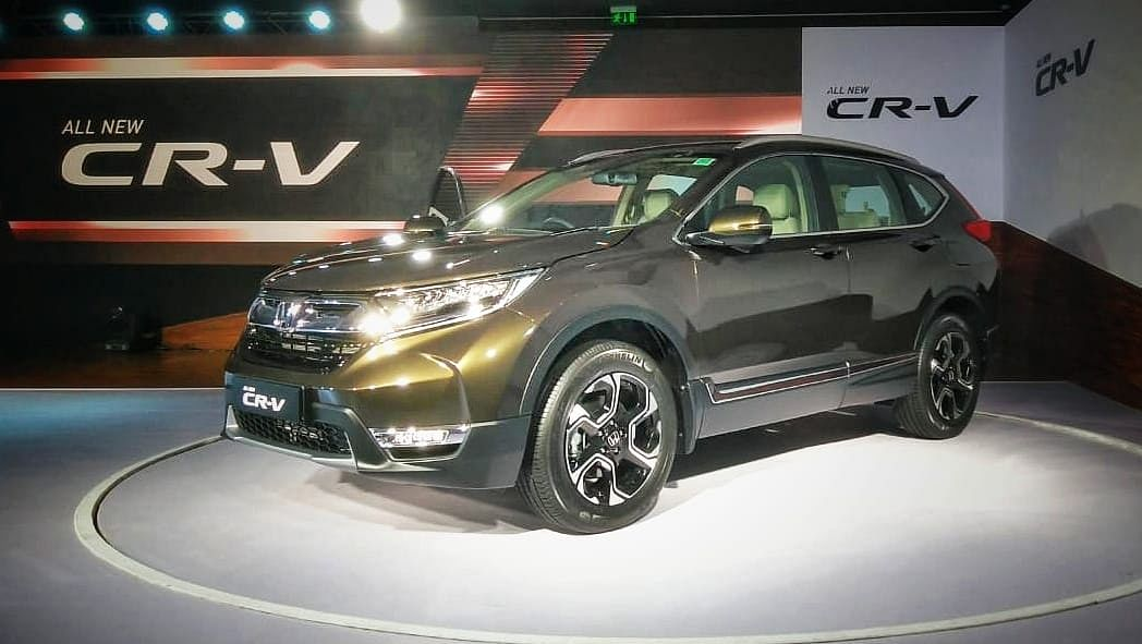 Honda launches the all new CR-V in India at Rs 28.15 lakh
