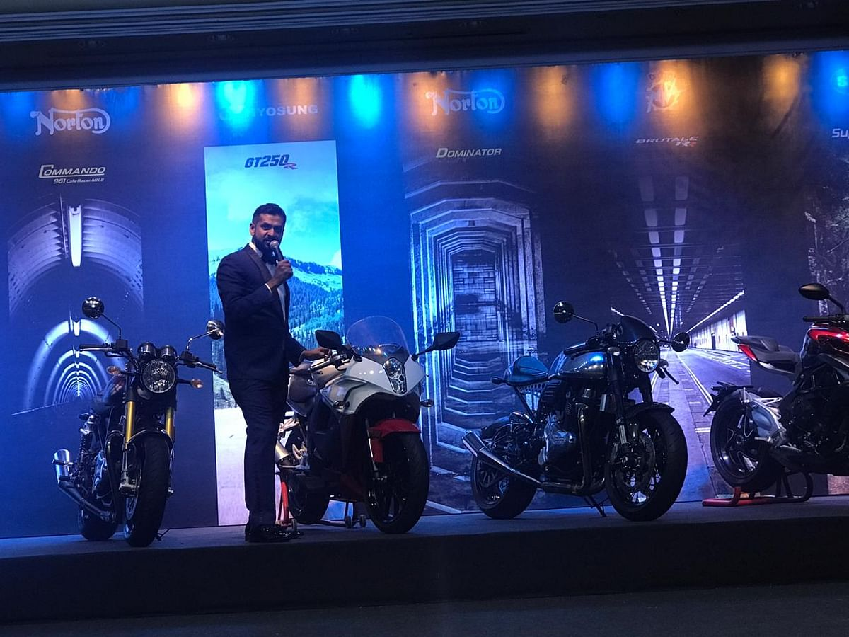 Motoroyale announces seven product launches and five brand tie-ups