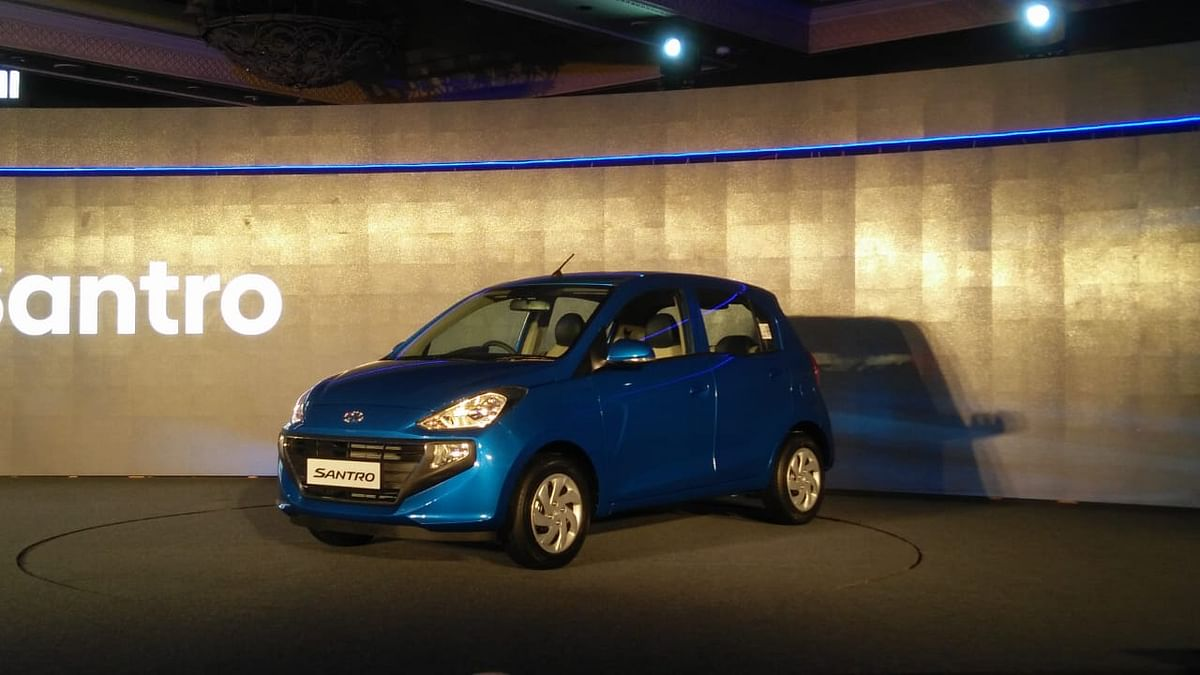 All new Hyundai Santro launched at Rs 3.89 lakh