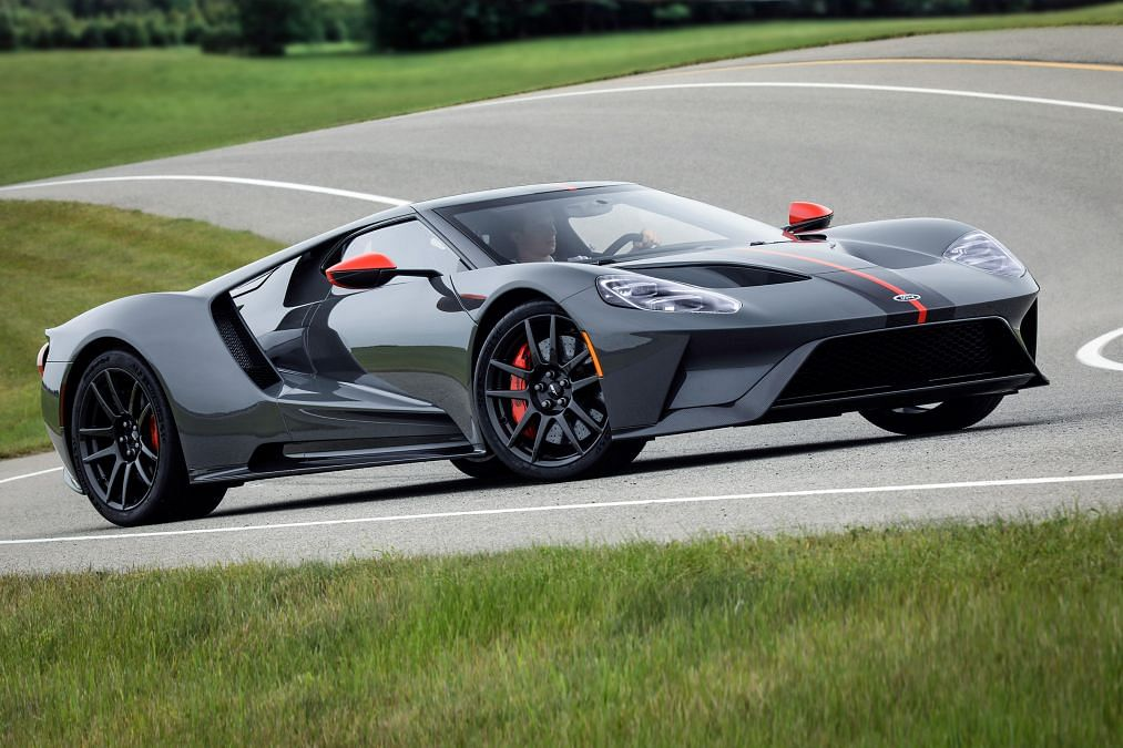 Ford pulls the wraps off its limited edition GT Carbon Series supercar