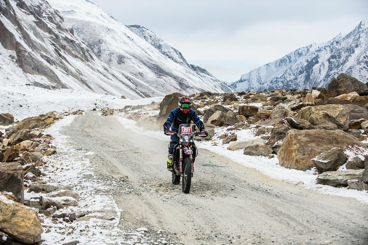 20th Raid de Himalaya: Arindam Saikia inches closer to the crown