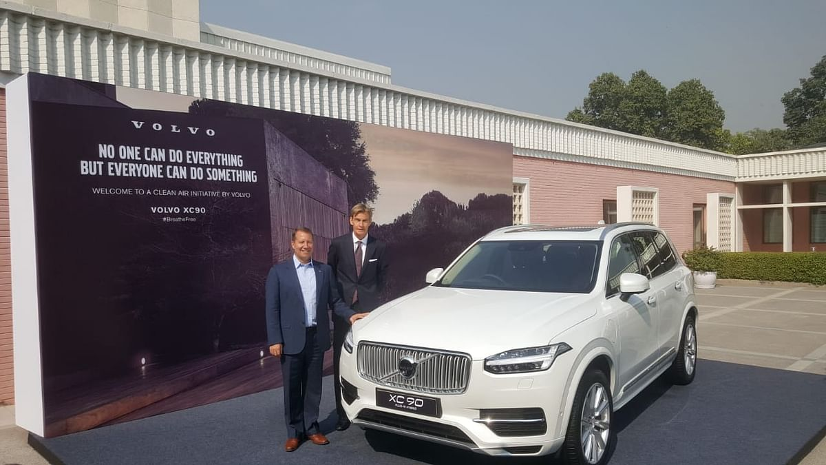 Volvo announces its plan to assemble plug-in hybrid vehicles in India