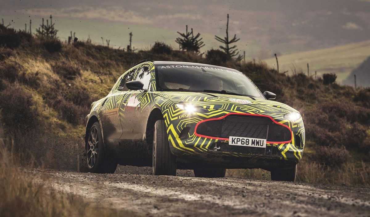 Aston Martin joins SUV bandwagon; testing of its prototype SUV begins