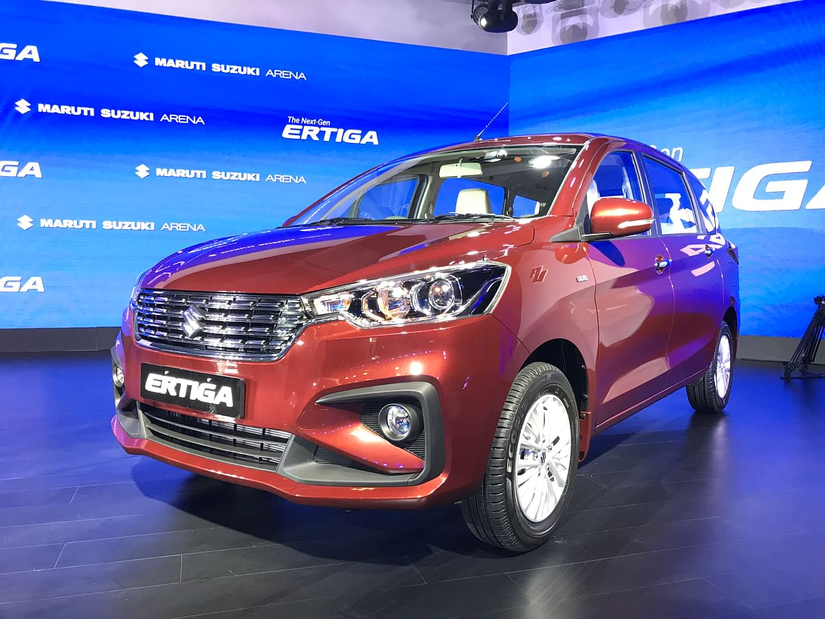 Next generation Maruti Suzuki Ertiga launched at Rs 7.44 lakh