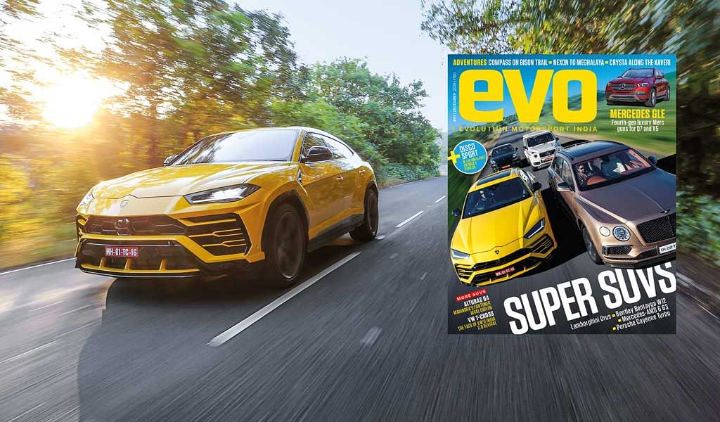 Mega SUV special evo India December 2018 issue – On stands now!