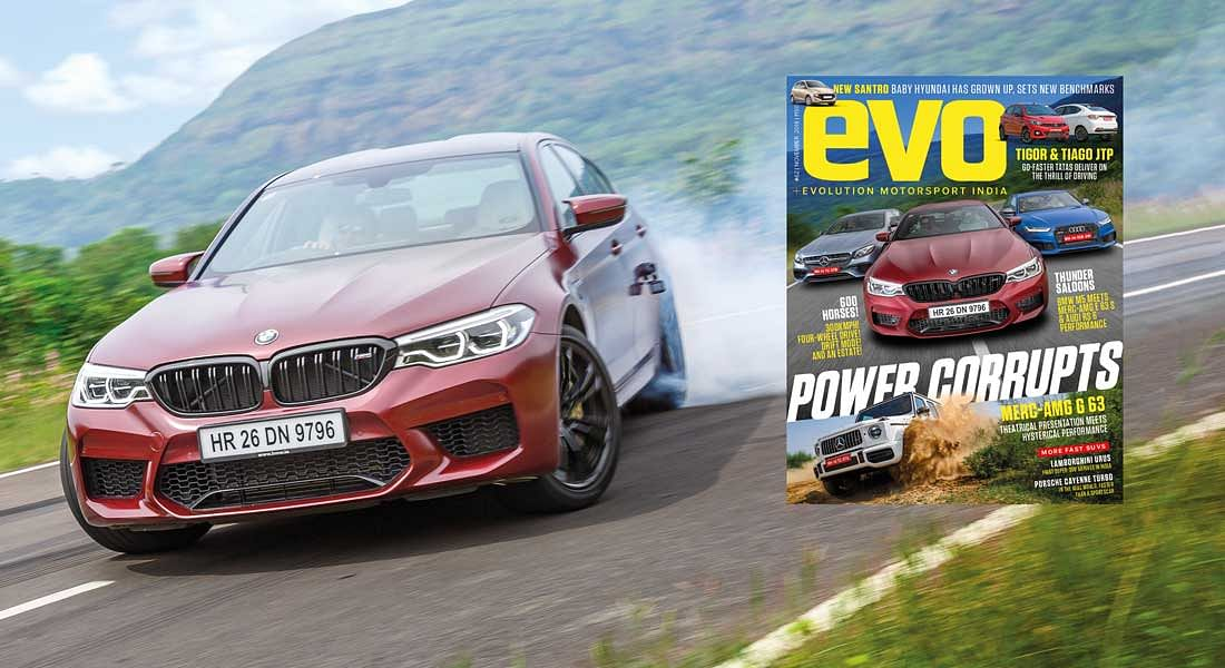 Power packed and turbocharged evo India November 2018 issue – on stands now!