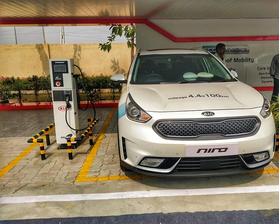 Kia Motors and government of Andhra Pradesh sign MoU for eco friendly vehicles