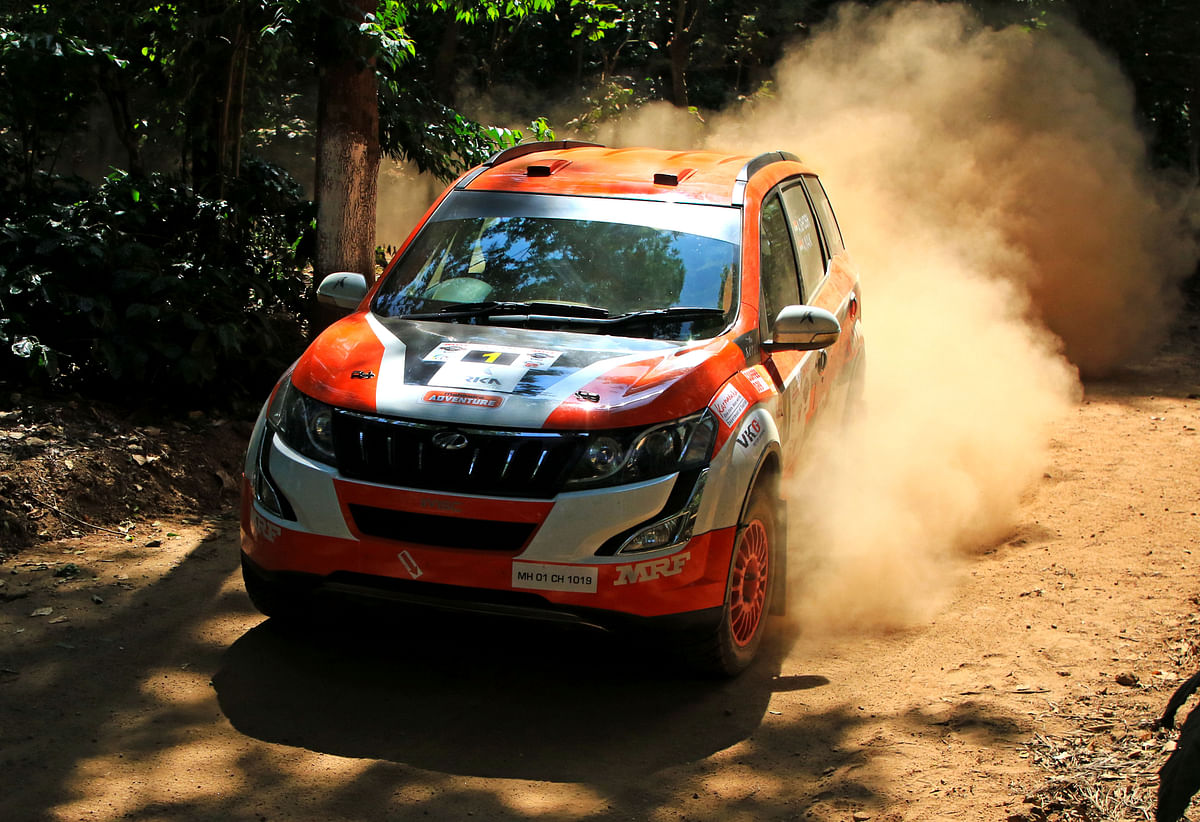 MRF INRC round 4 – Karna Kadur and Nikhil Pai win Coffee Day India Rally