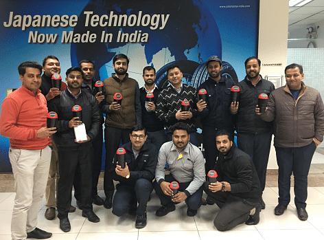 Clean India: Portable car dustbins from Yokohama