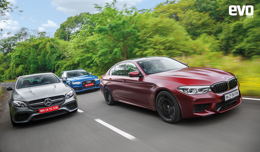 The 600bhp faceoff: BMW M5 vs Mercedes-AMG E 63 S vs Audi RS 6 Avant