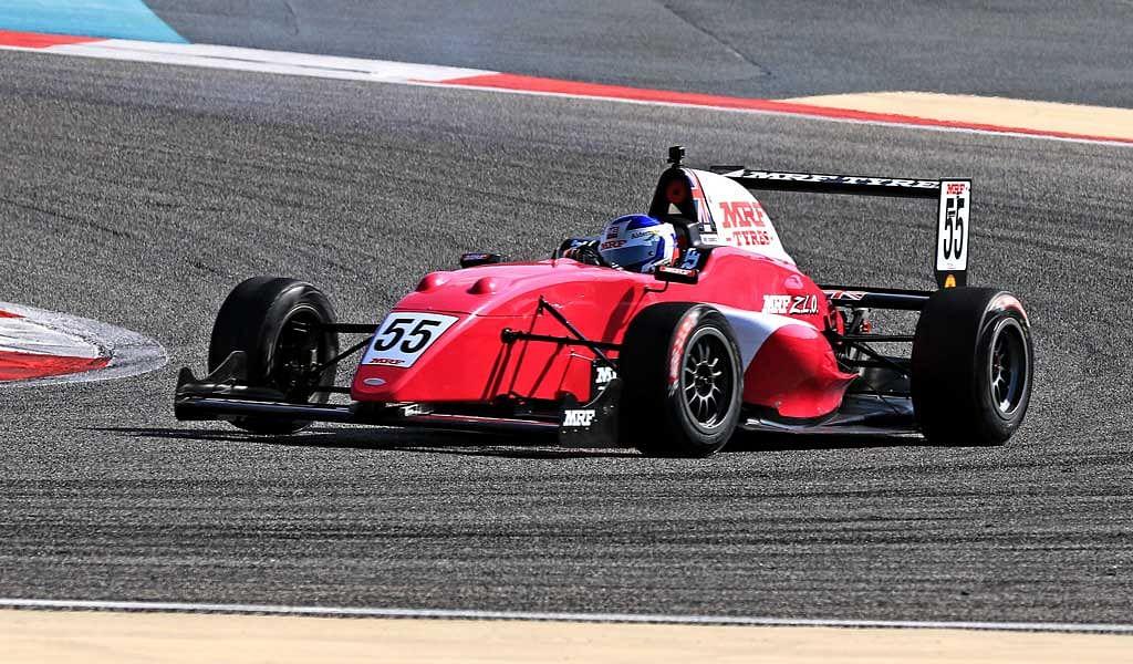 MRF Challenge Round 2: Jamie Chadwick wins three races