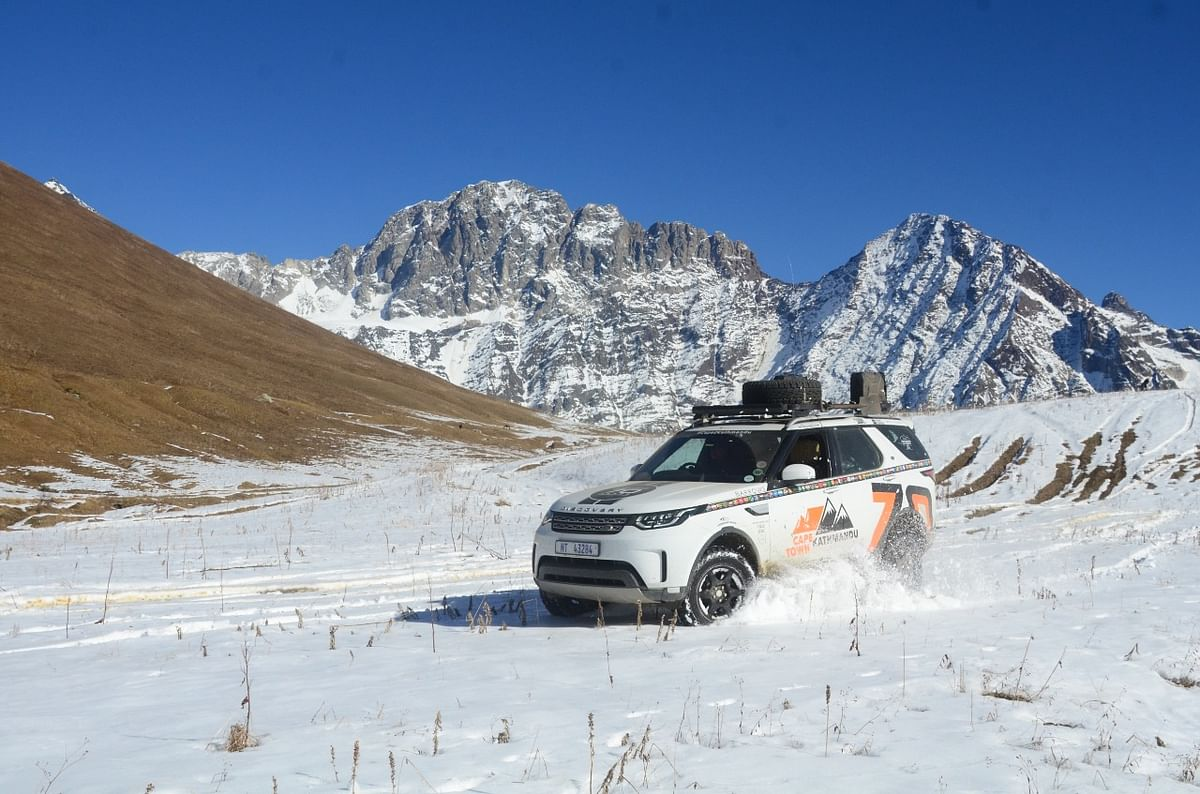 Kingsley Holgate Foundation: Cape Town to Kathmandu in two Land Rover Discovery SUVs